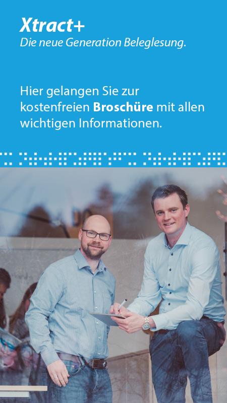 Belegleser Broschüre Xtract+
