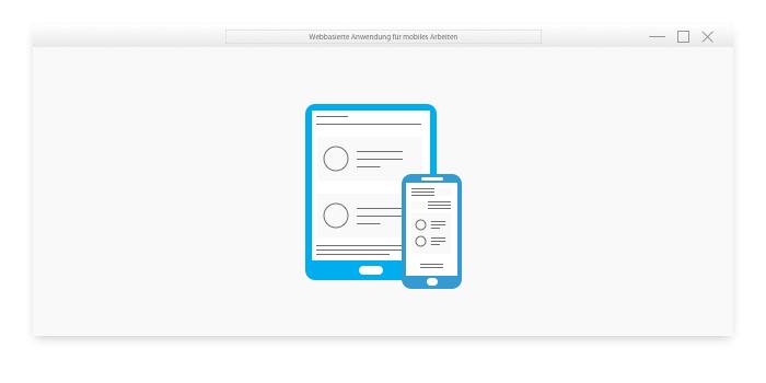 Webbasierte Anwendungen für mobiles Arbeiten