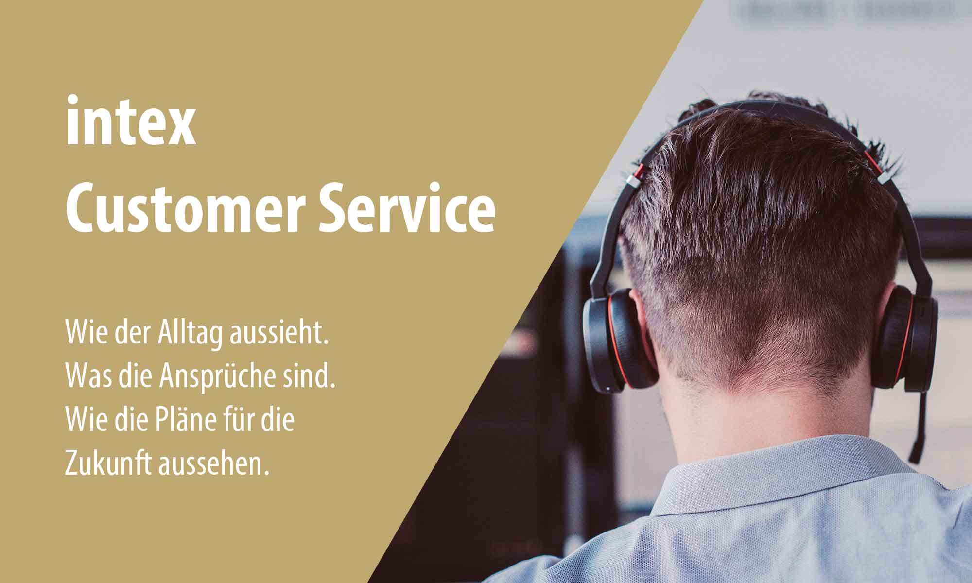 intex Customer Service Vorstellung